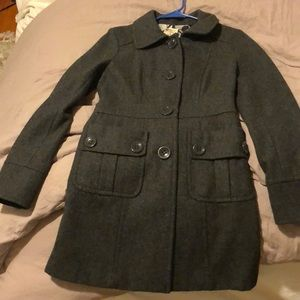 Grey peacoat bought from Nordstroms